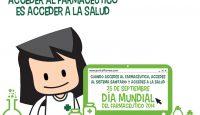 """""""Acceder al farmacéutico es acceder a la salud"""", lema para el Día Mundial del Farmacéutico"""