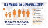 Objetivo psoriasis, construyendo un futuro, lema del Día Mundial de la Psoriasis y la Artritis Psoriásica