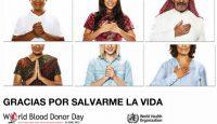 """Día Mundial del Donante de Sangre: """"Gracias por salvarme la vida"""""""
