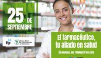 'El farmacéutico, tu aliado en salud',  Día Mundial del Farmacéutico
