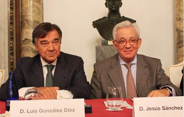 Jesús Sánchez Martos y Luis Gonzalez Díez