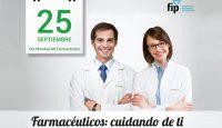 """""""Los farmacéuticos cuidamos de ti"""" lema del Día Mundial del Farmacéutico"""