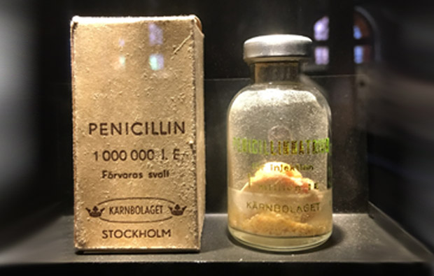descubrimiento de la penicilina Peniciline,  bacterias