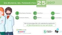 """Día del Farmacéutico 2017: """"De la investigación a la asistencia sanitaria: el farmacéutico a su servicio"""""""