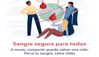 Día Mundial del Donante de Sangre: sangre segura para todos