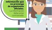 La información oficial hace frente a los bulos del coronavirus