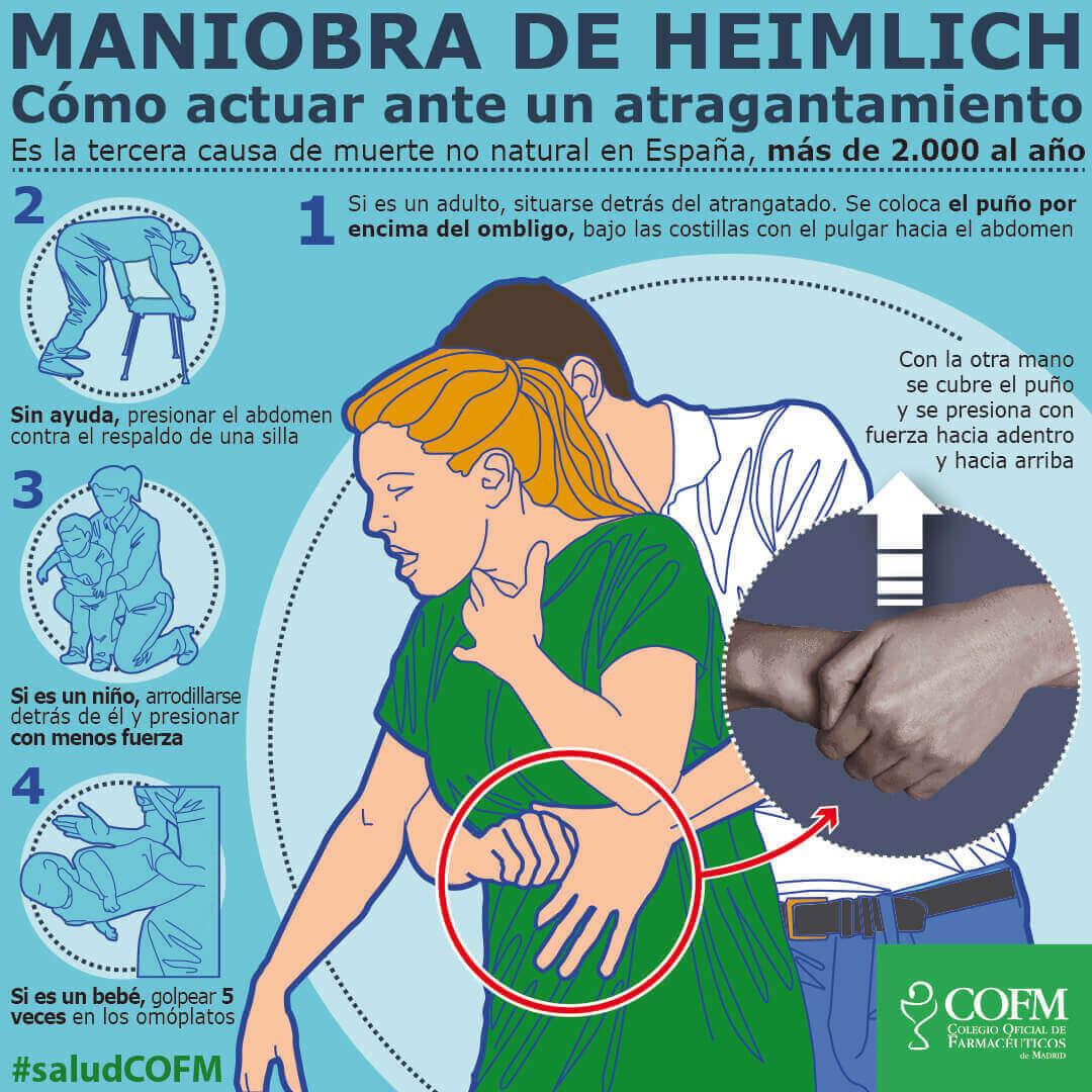 HEIMLICH MANIOBRA